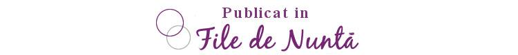 Publicat in File de Nunta Catrinel & Alex {Nunta}