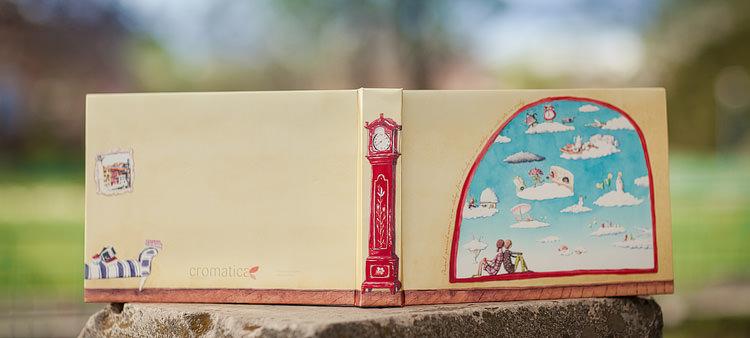 Album foto nunta - coperta cu ilustratie (3)