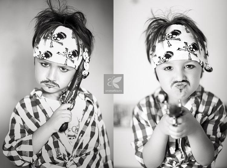 Portret copil - costum de pirat (1)