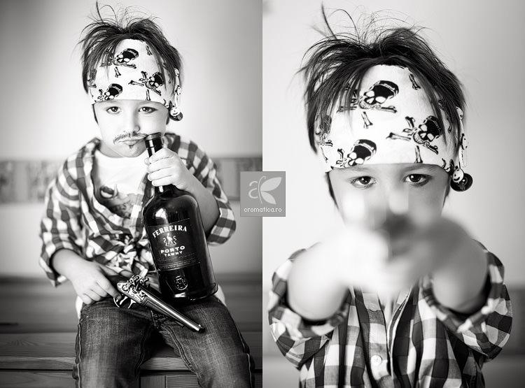 Portret copil - costum de pirat (3)