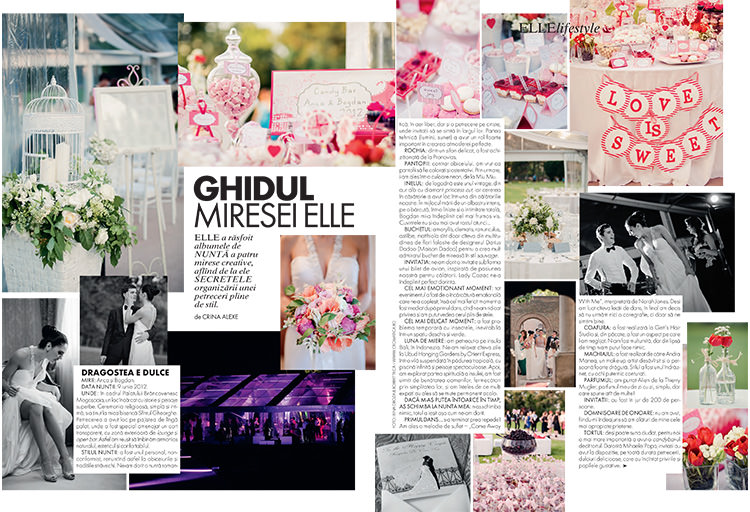 Cromatica in Elle Mariage (2)