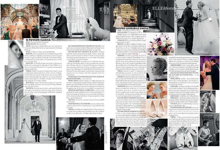 Cromatica in Elle Mariage (3)