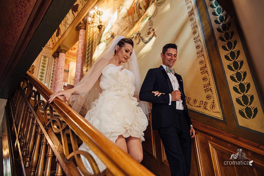 Cristina + Cornel - Nunta la Palatul Ghika (12)