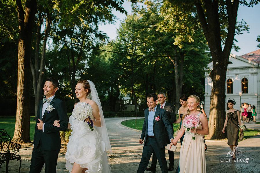 Cristina + Cornel - Nunta la Palatul Ghika (14)