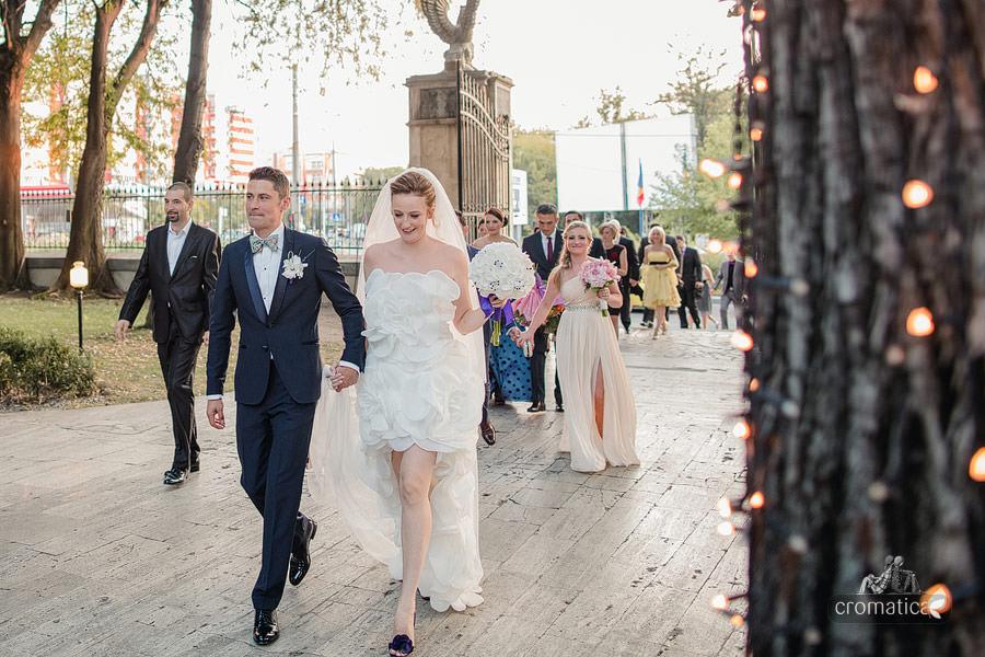 Cristina + Cornel - Nunta la Palatul Ghika (21)