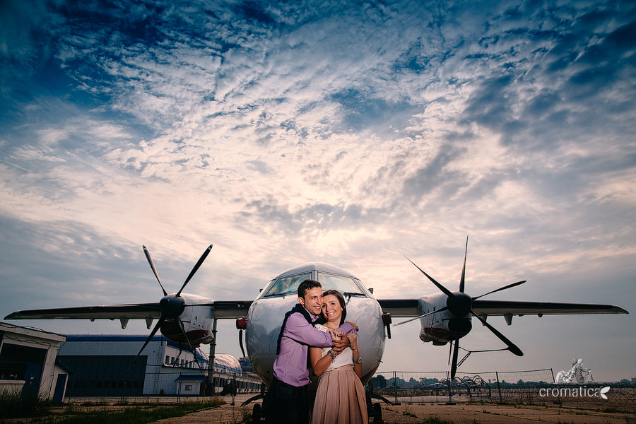 Irina & Bogdan - Sedinta foto avioane (3)