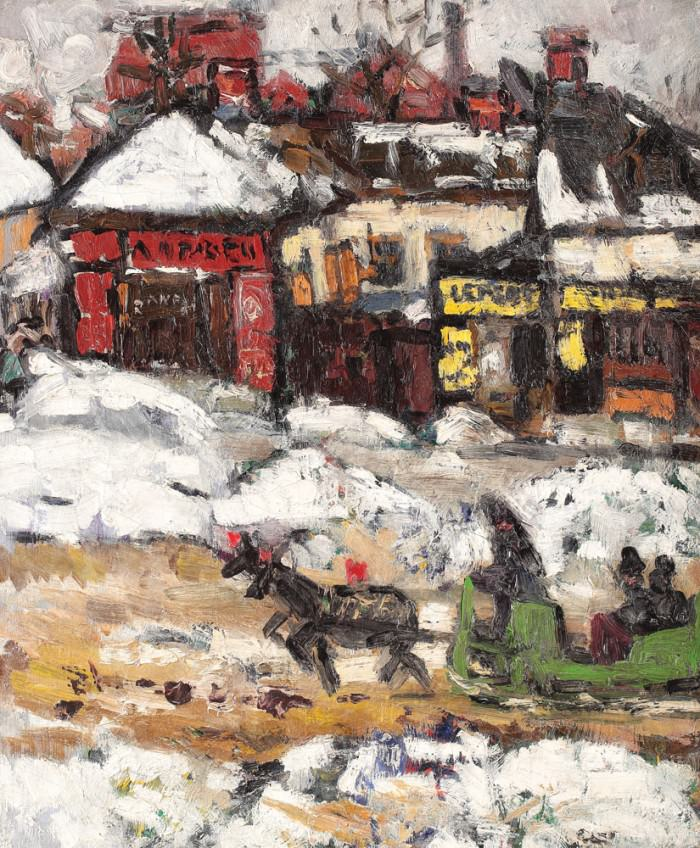 Iarna-pe-strada-Lizeanu-Ion-Tuculescu