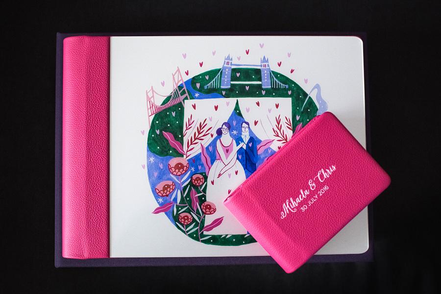 Album de nuntă cu copertă ilustrată de Mădăina Andronic (5)