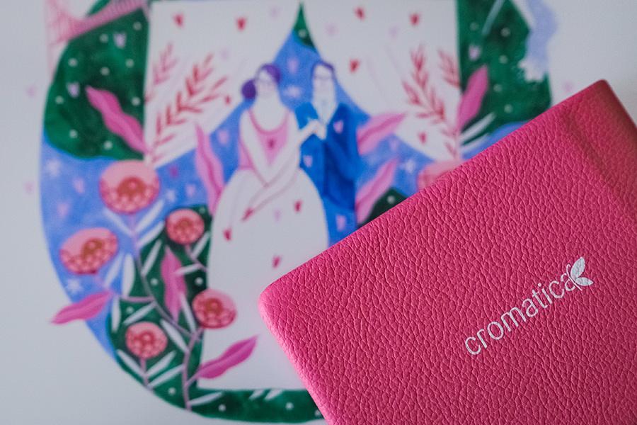 Album de nuntă cu copertă ilustrată de Mădăina Andronic (11)