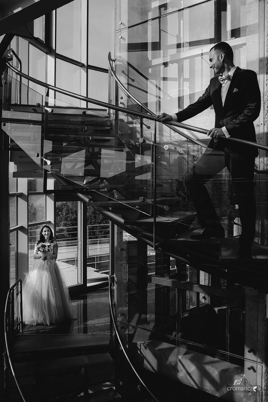 Ana & Cristi - fotografii nunta Salon du Mariage (23)