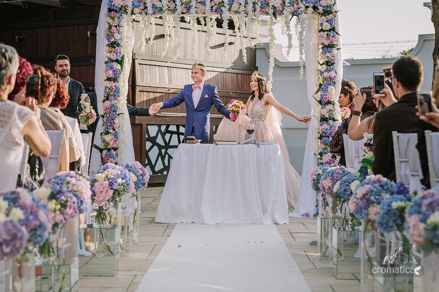 Ana & Cristi - fotografii nunta Salon du Mariage (28)