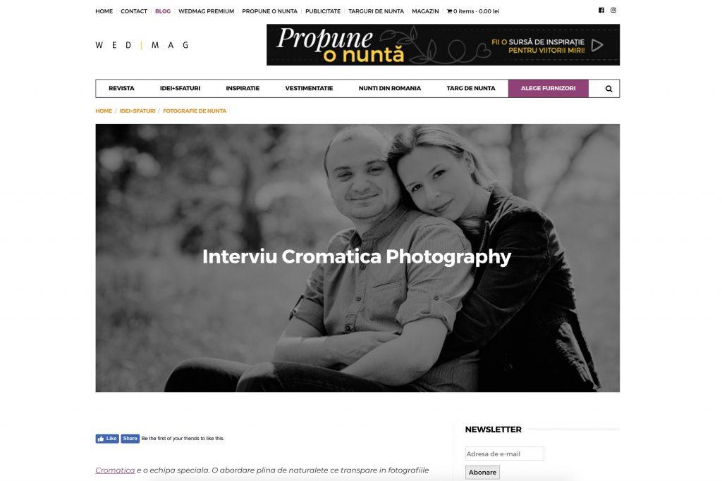 cromatica photography interviu wedmag