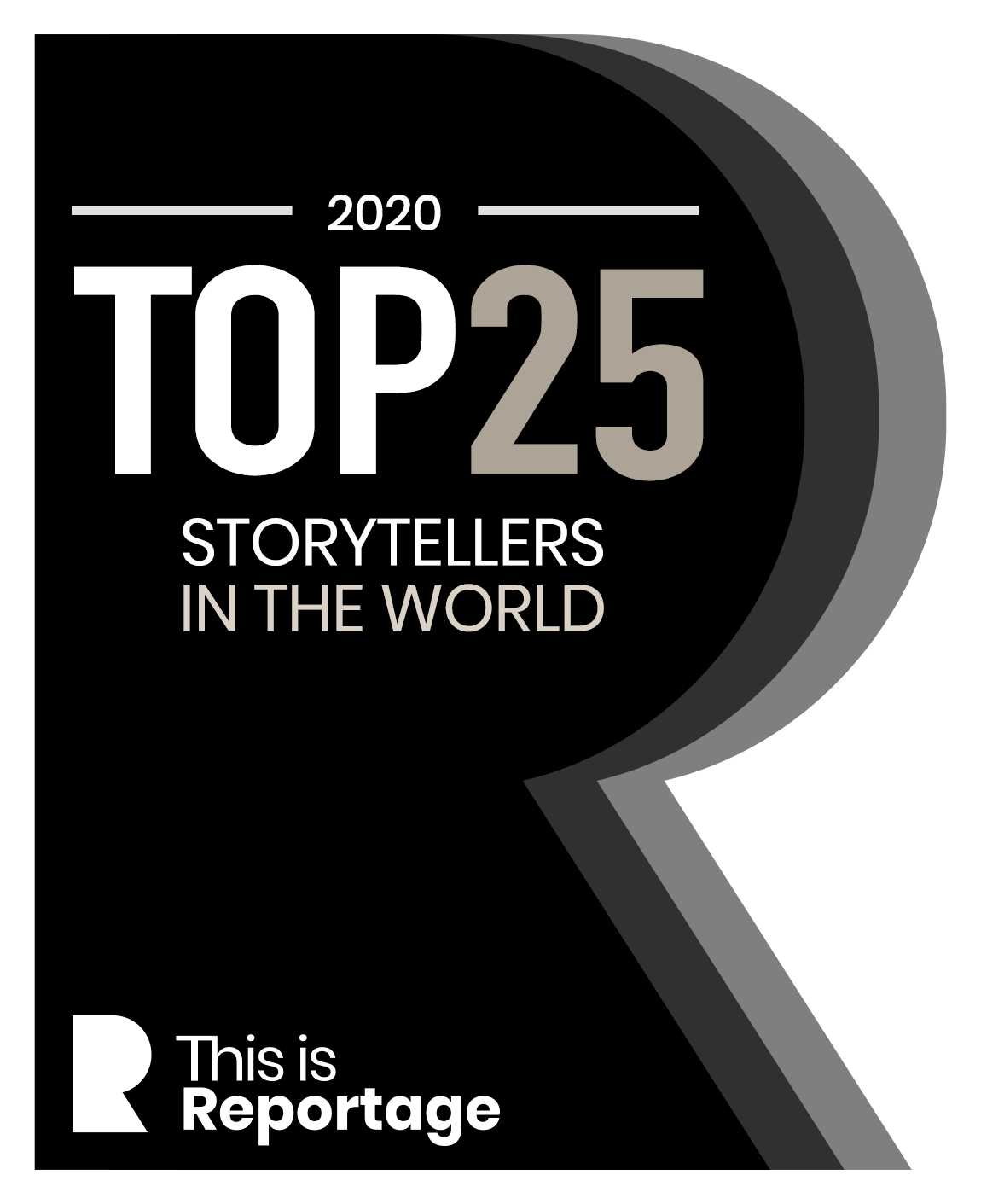 THIS IS REPORTAGE STORYTELLERS TOP25 WORLD 2020